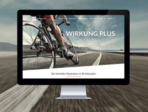 Webdesign Referenz Wirkung Plus