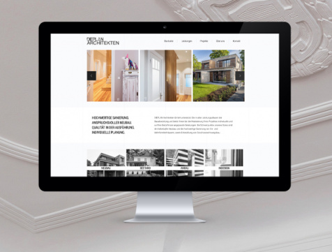 Webdesign Hamburg - DIEPLAN Architekten