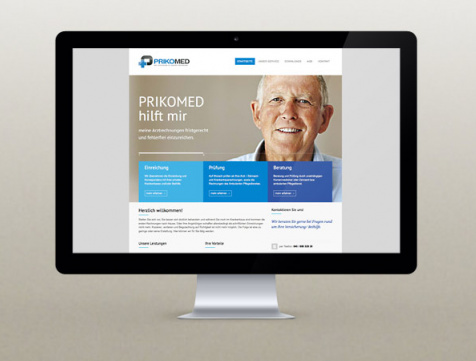 Webdesign Hamburg - Prikomed