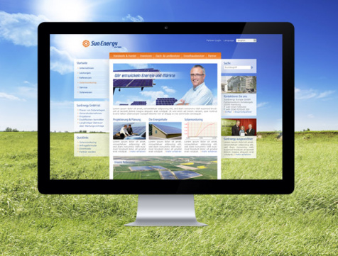 Webdesign Hamburg - Sun Energy Europe